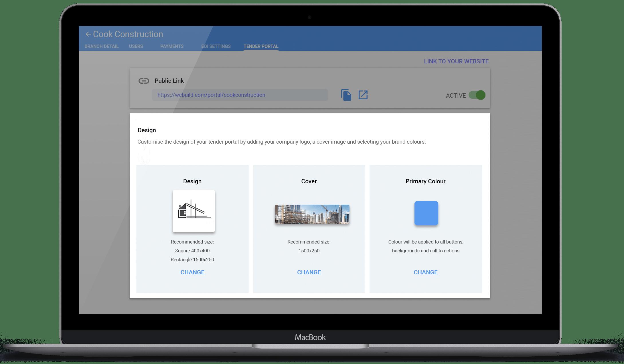 AU 02 MacBook Pro Tender Portal