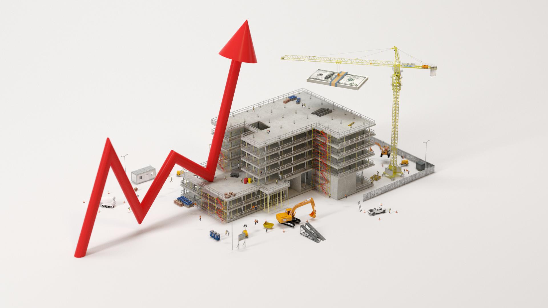 Construction Commercial spending