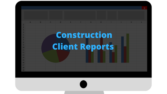How to prepare the best construction client report