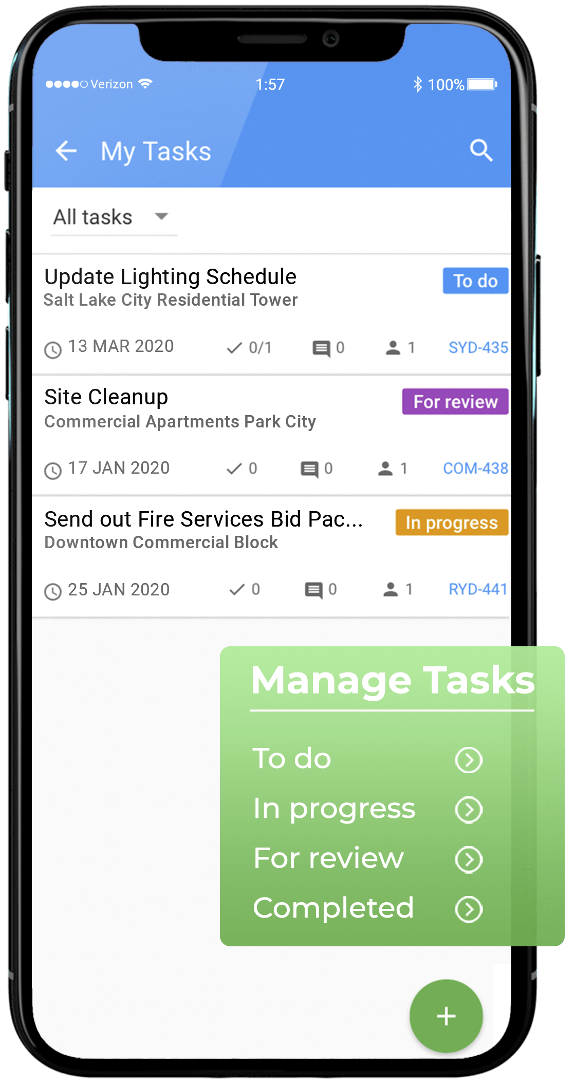 US Task Management